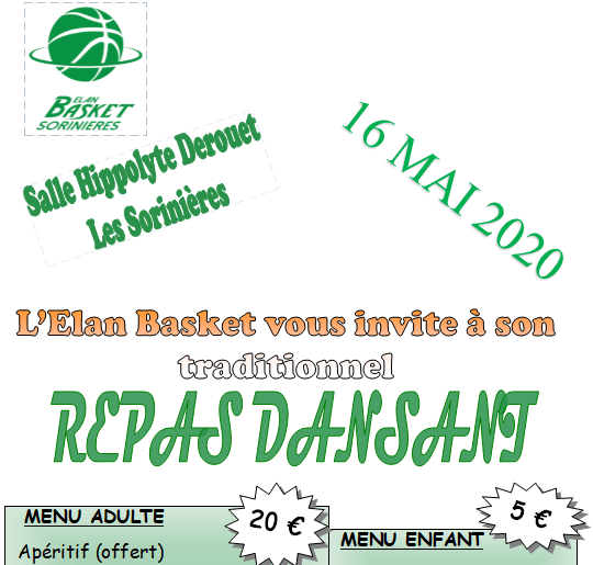 SOIREE BASKET 16/05/2020 - Adulte
